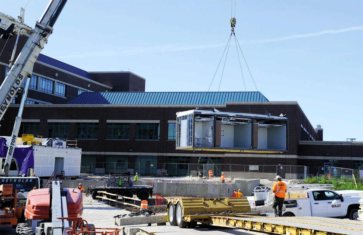 Grafton hospital adds modules for 16-bed expansion - 2