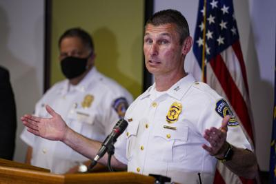 FedEx Shooting Indianapolis -Deputy Chief Craig McCartt of the Indianapolis Metropolitan Police Department