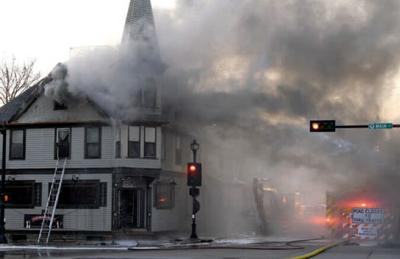 Fire engulfs Thiensville's the cheel restaurant - 04