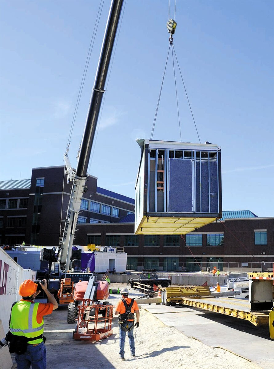 Grafton hospital adds modules for 16-bed expansion - 1