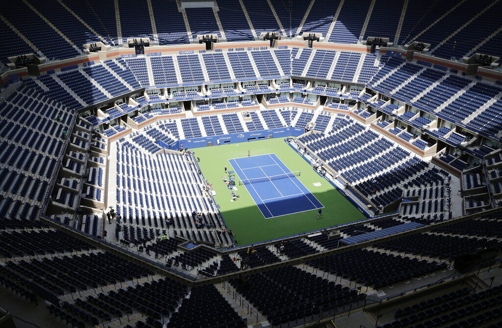 US Open-Still on Track Tennis 1
