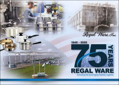 Regal Ware celebrates 75th anniversary