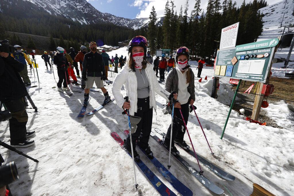 Virus Outbreak Ski Season
