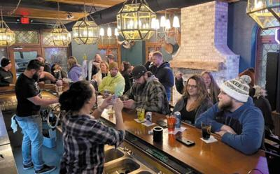 Contemporary bar brings a bit of Vegas to West Bend