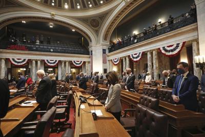 Police Shooting Wisconsin Legislature