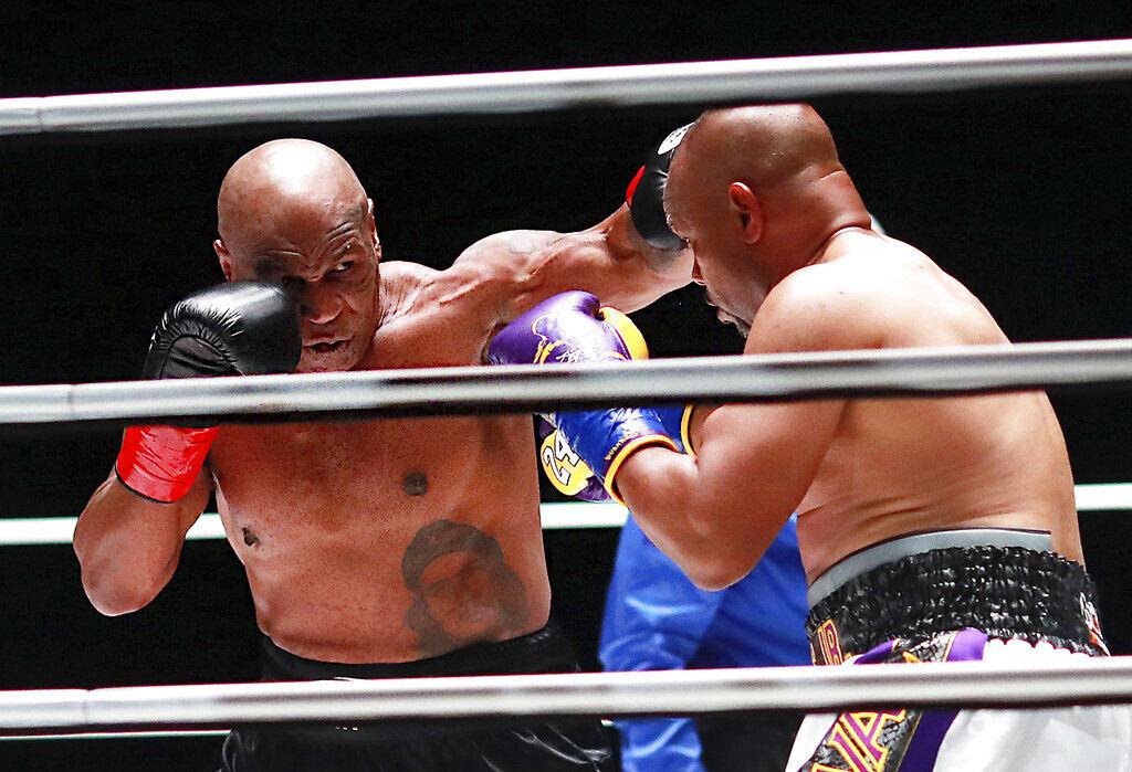 APTOPIX Tyson Jones Boxing 7