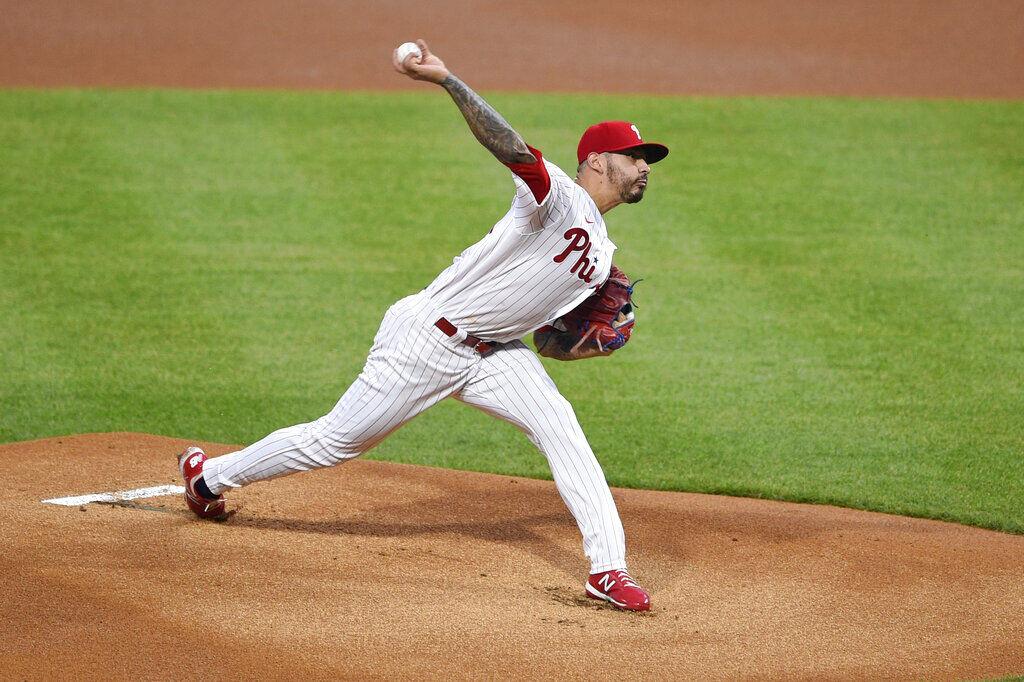 Brewers Phillies Baseball