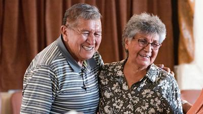 Bennie and Edna Romero