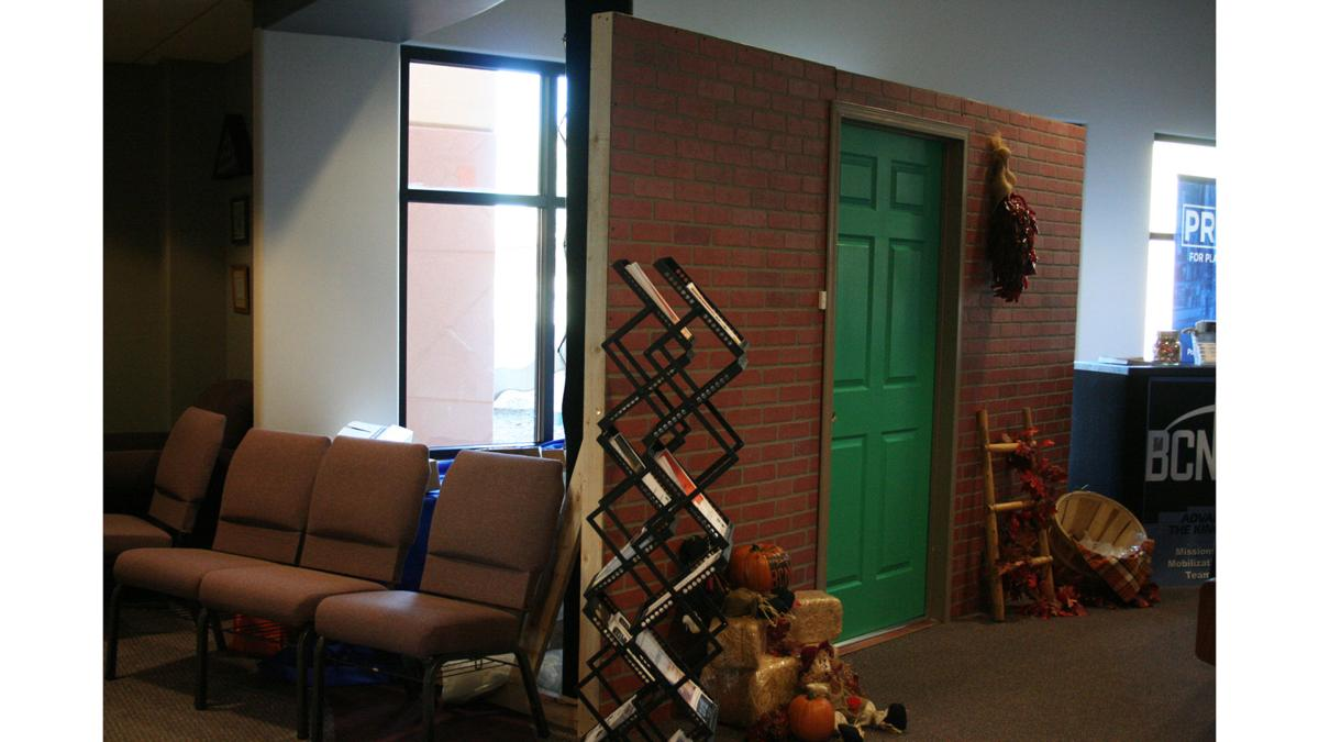 Doorway to Missions at the Registration Reception