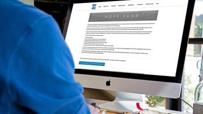 Hope Funds Website