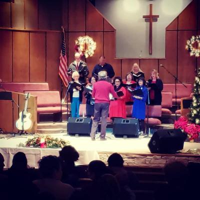 Gallup Choir on Christmas Eve