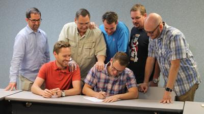 Church Plant Agreement Signing