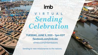 IMB Virtual Sending Celebration