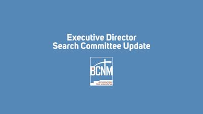 Executive Director Search Committee Update