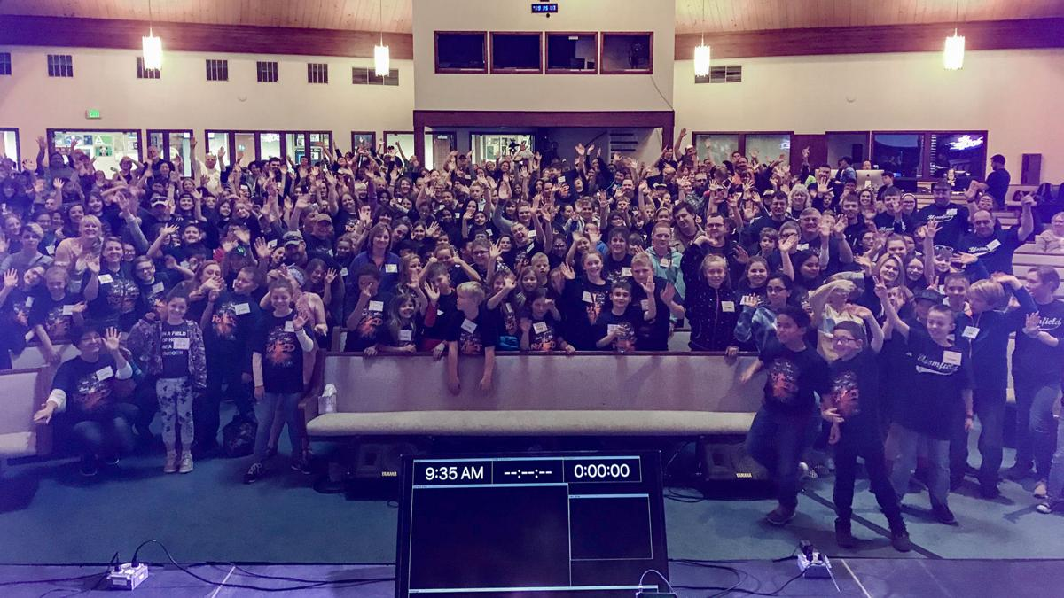 2019 Young Lives Ablaze Conference Group