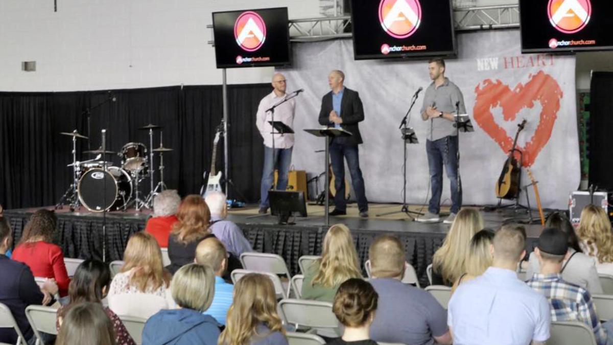 Anchor Church Staff on Stage