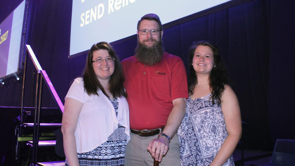 Clark Harless Family at SEND Luncheon