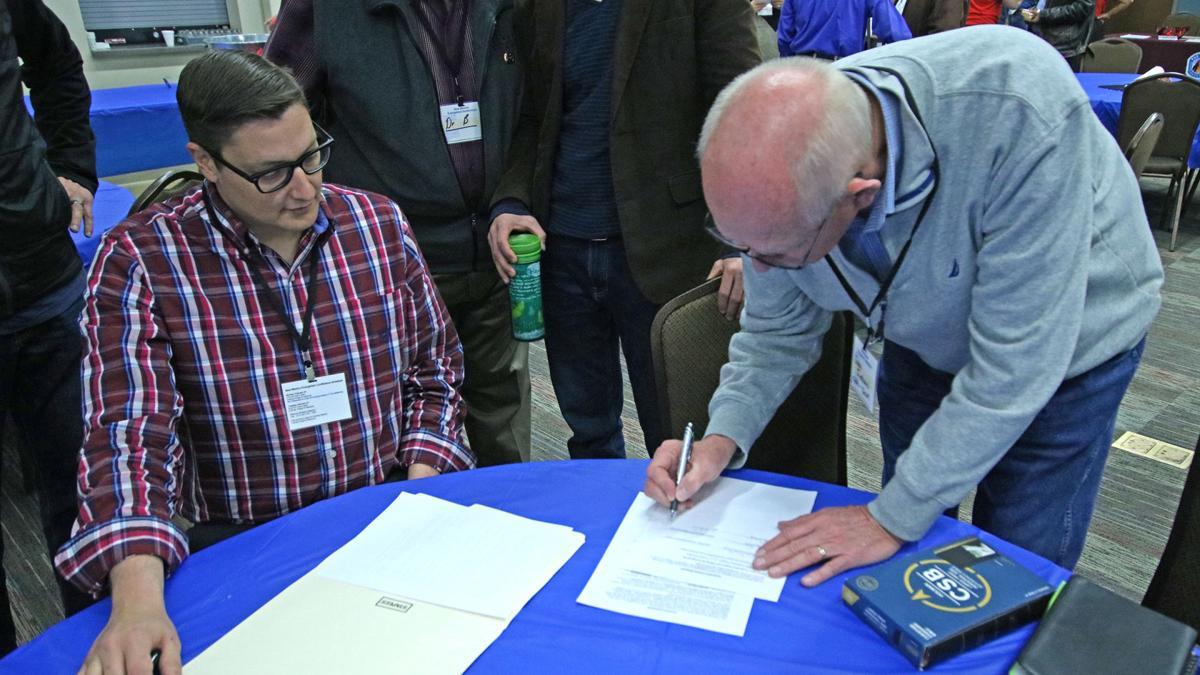 John Torrison Signs Agreement