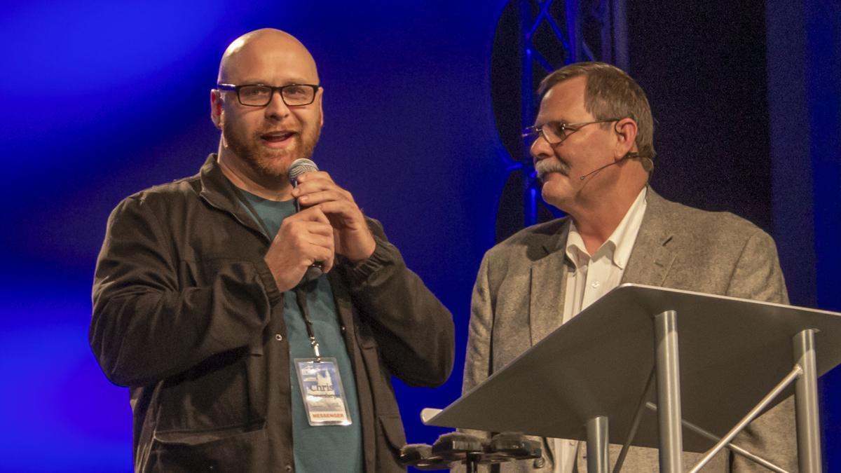 Chris Promersberger at New Staff Intros, 2018 BCNM Annual Meeting