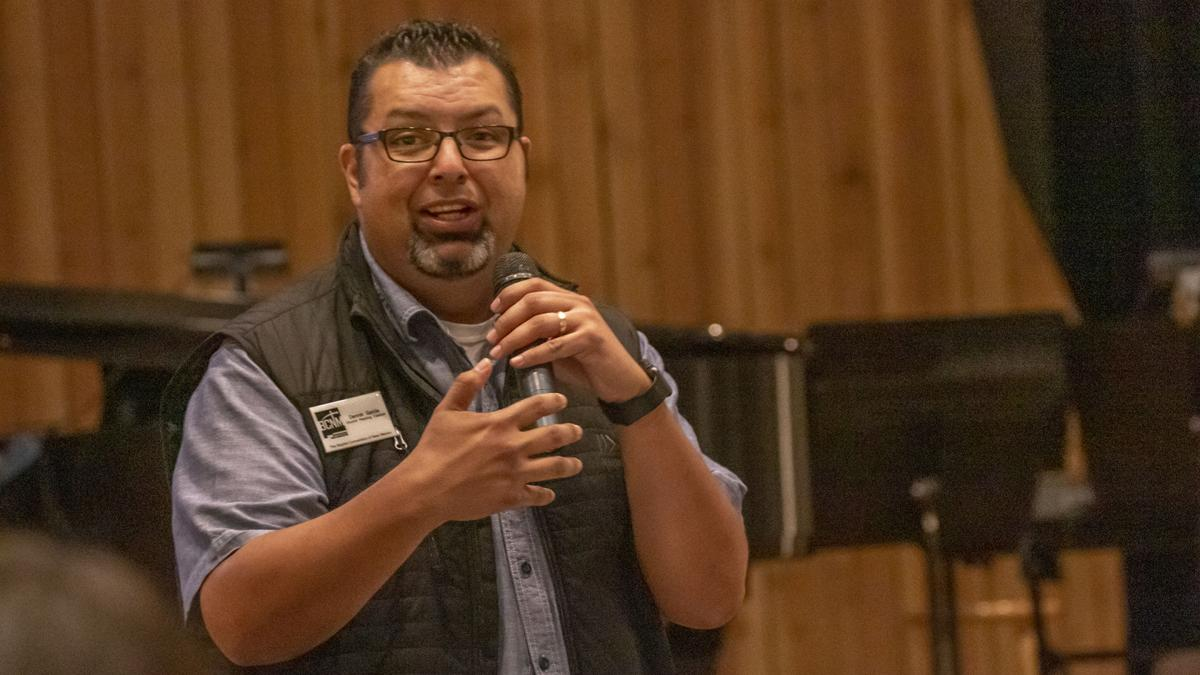 Dennis Garcia at the 2018 Church Planting Luncheon