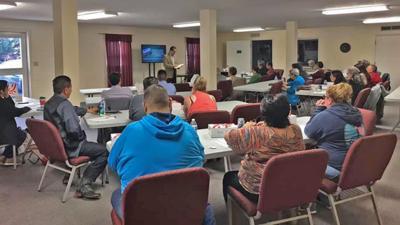 Del Risco Assists Evangelistic Planning