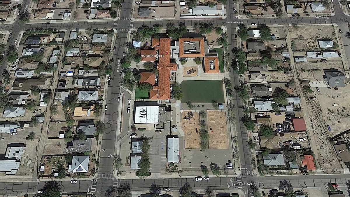 Eugene Field Elementary School- Top View