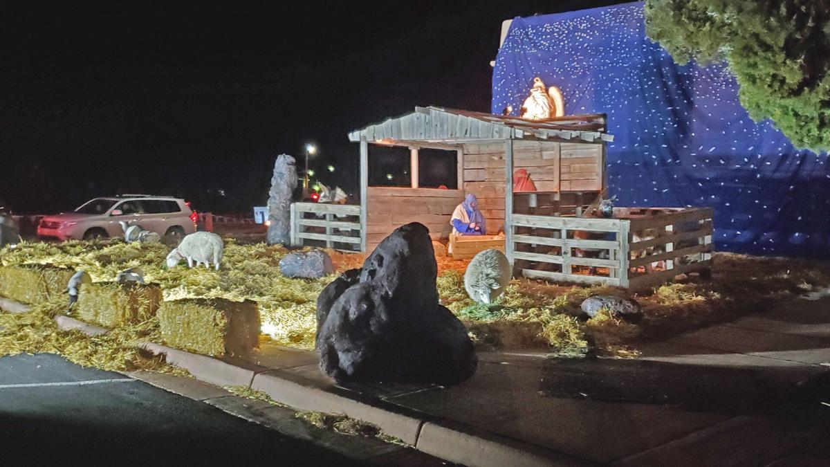 Nativity- Mary and Joseph