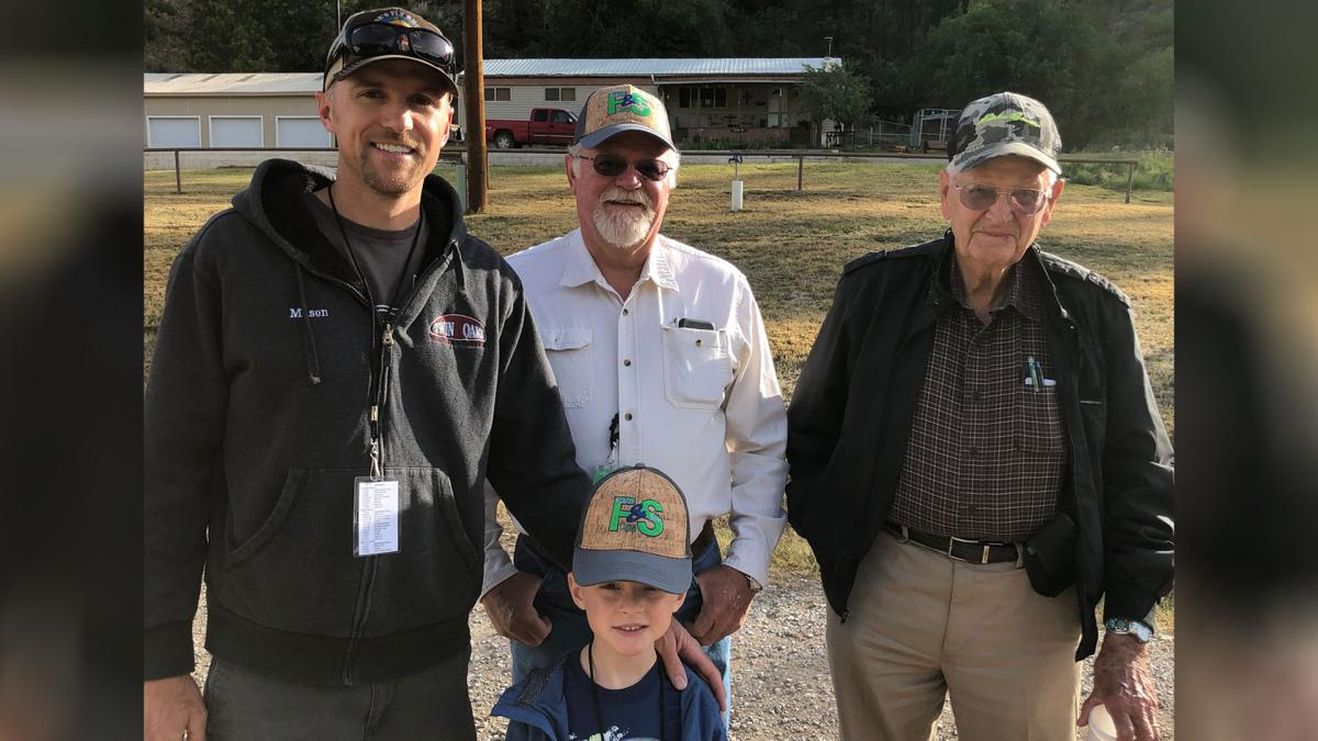 Four Generations at Father and Son Camp