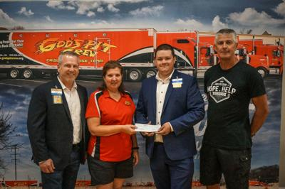 Walmart donates to God's Pit Crew