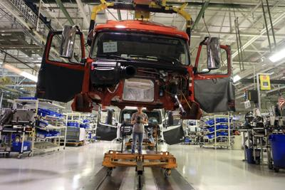 Volvo truck manufacturing facility in Pulaski County