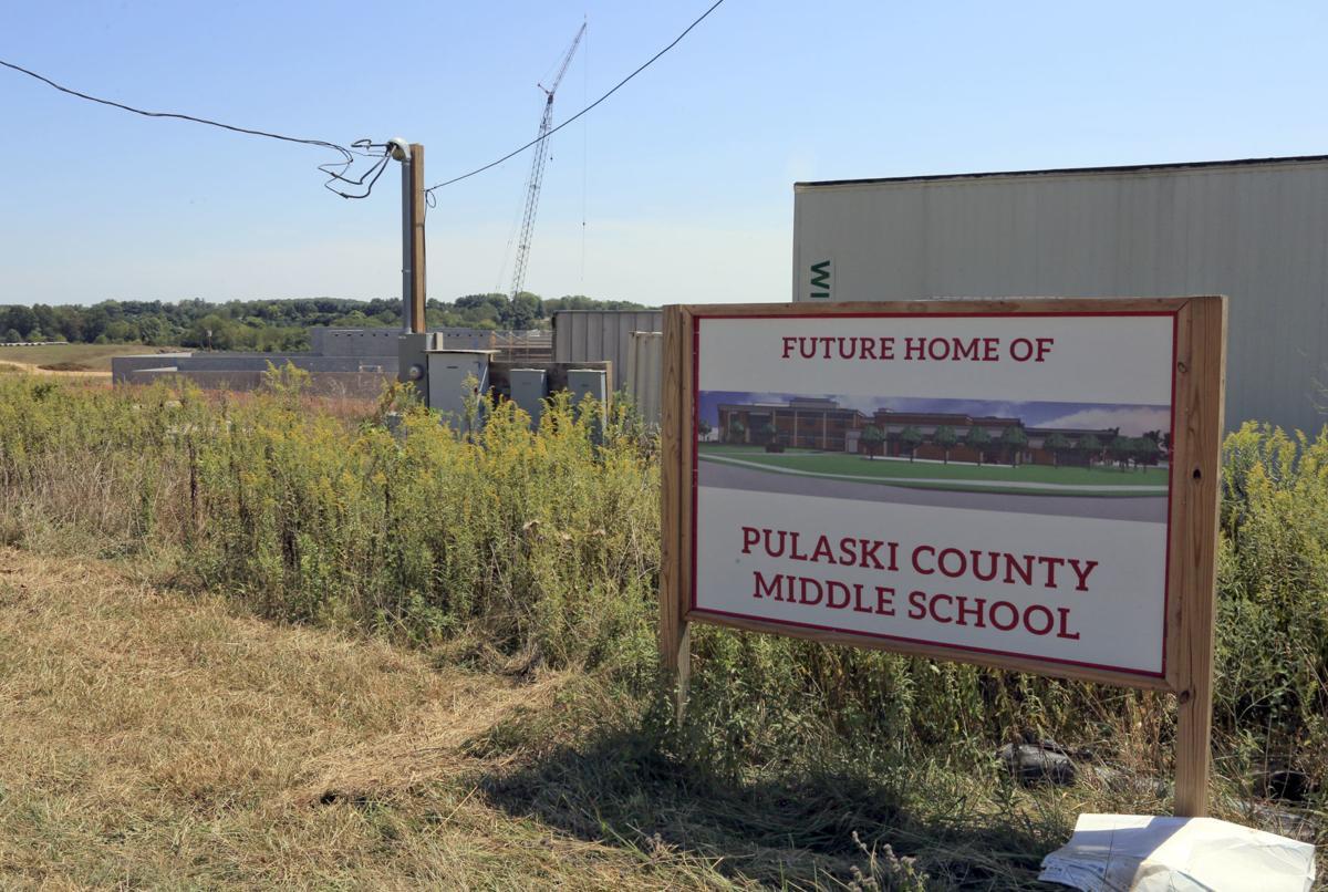 New Pulaski middle school