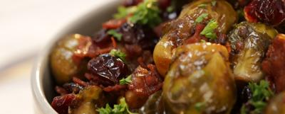 Sautéed Brussels sprouts and chorizo: Made with love and good for the heart