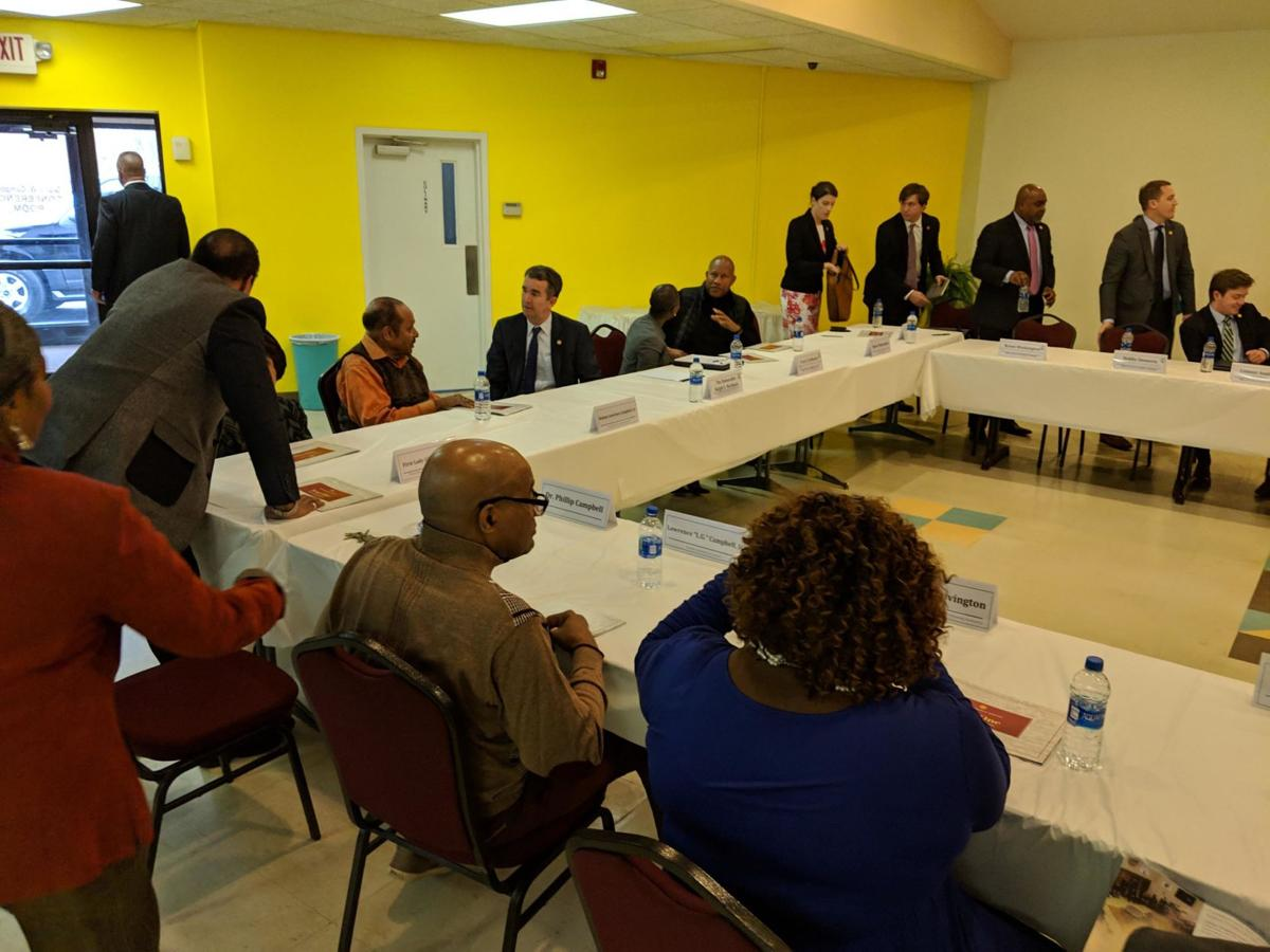 Governor Holds Roundtable With African-American Leaders In