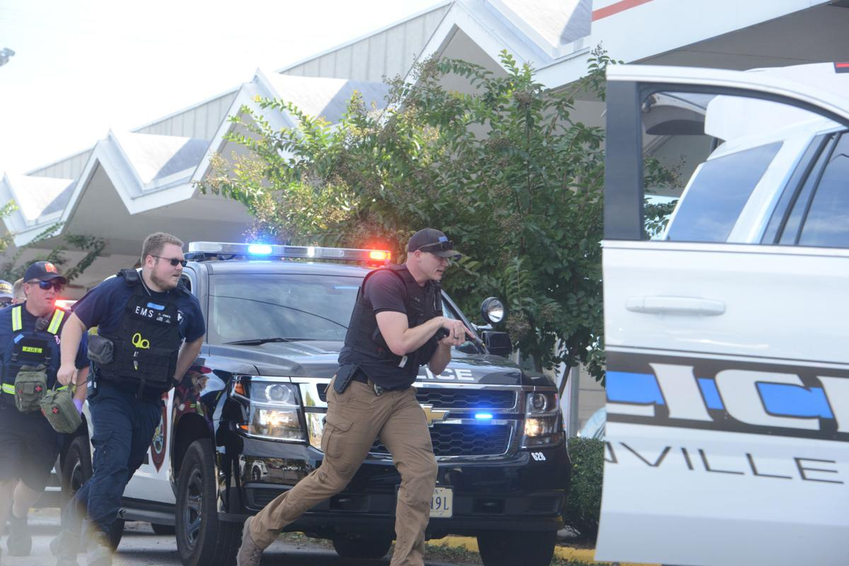 Active shooter drill in Danville