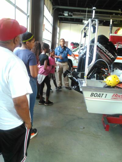 Groups visit Danville Life Saving Crew