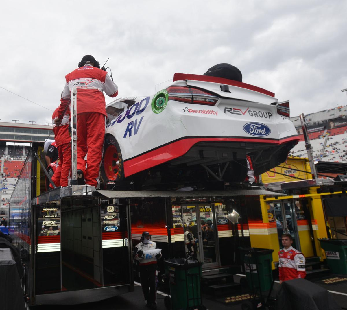 Blaney\'s promising Food City 500 ends with wreck | Auto Racing ...