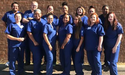 Nurse aide students