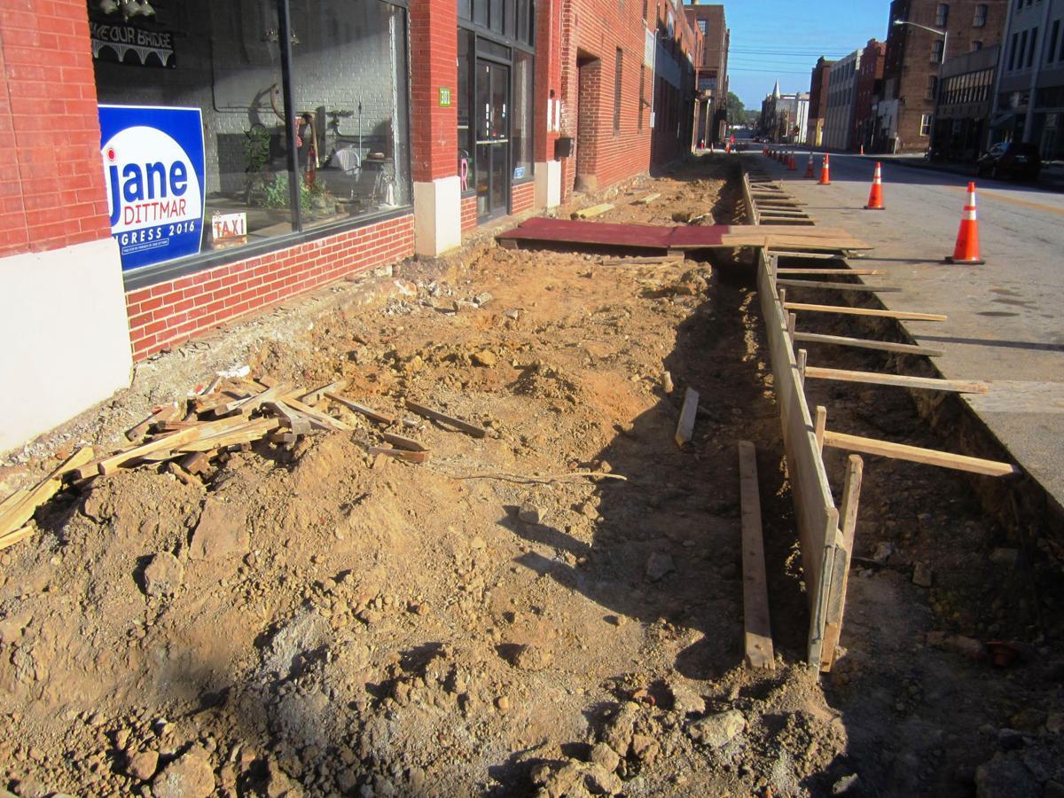Craghead Street granite curbs disappearing | Local