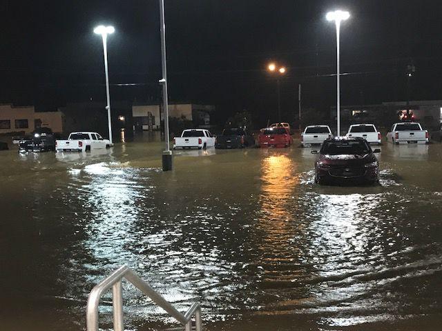 danville auto dealer blames city for flooding woes news. Black Bedroom Furniture Sets. Home Design Ideas