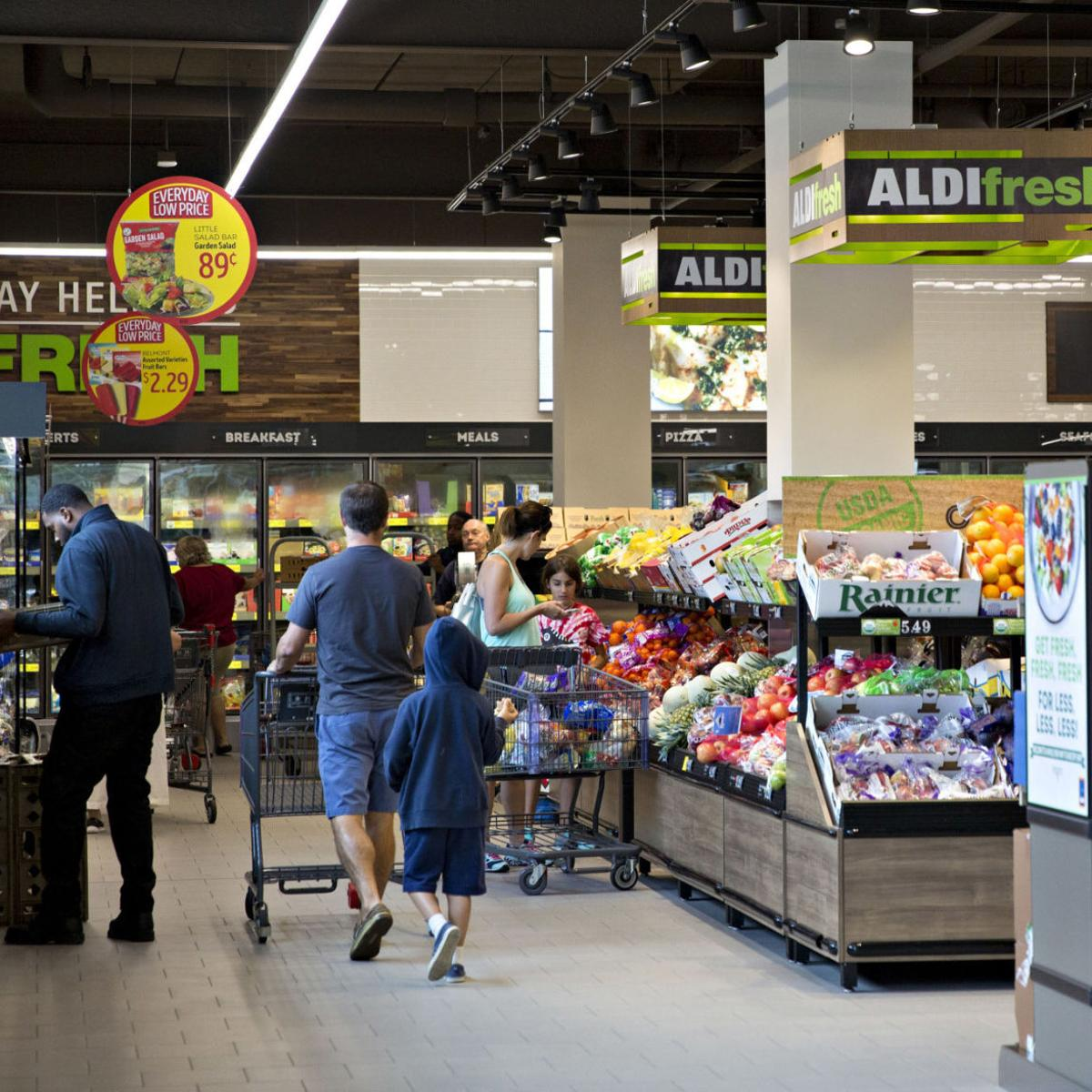 Aldi sets sustainability goals with consumers calling for