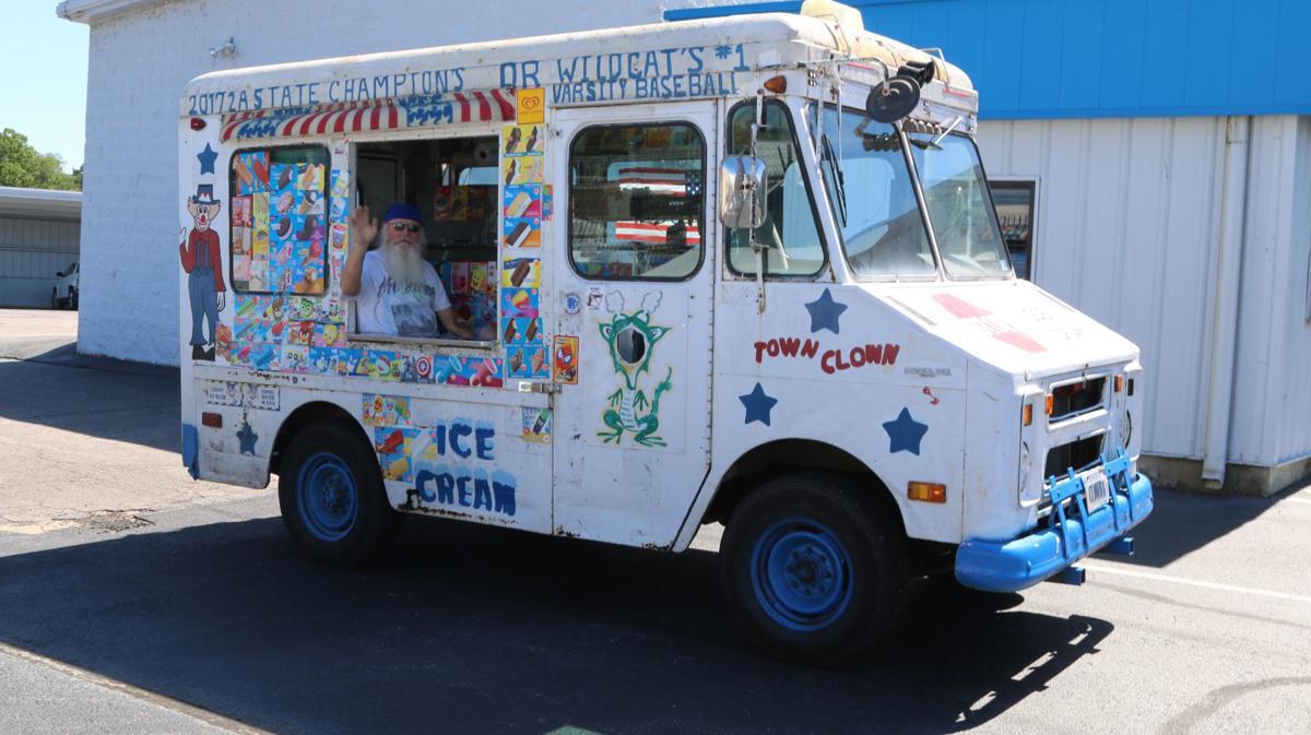 Ice Cream Santa