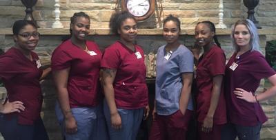 Nurse aide education program graduates