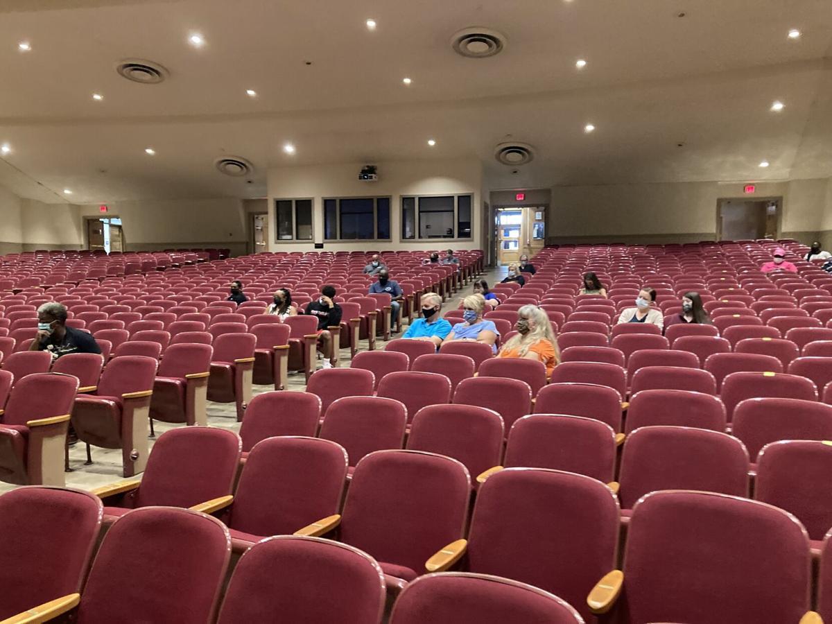 School meeting at GW