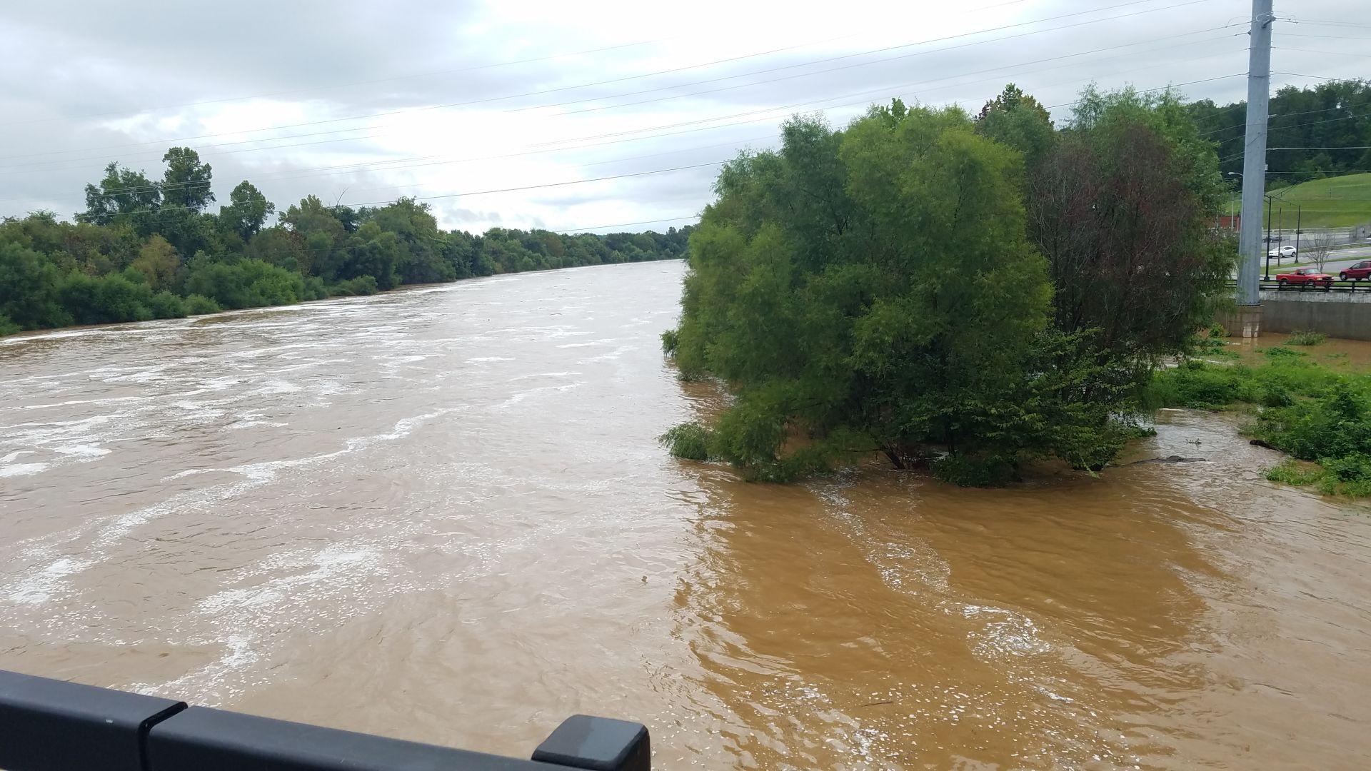 Flooding in danville ar