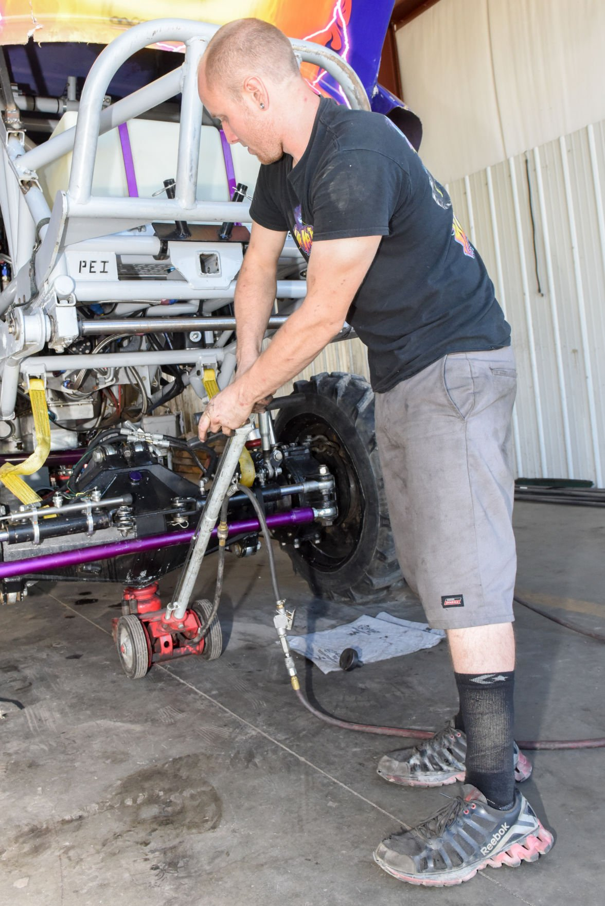 Extreme Monster Truck Show to feature local