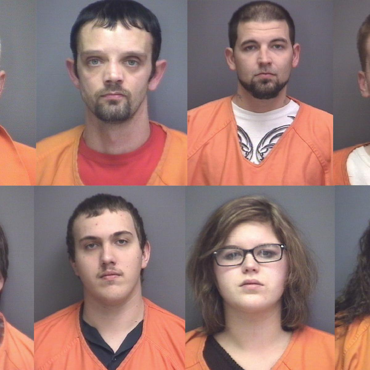 Eight arrested, charged so far in Pittsylvania County