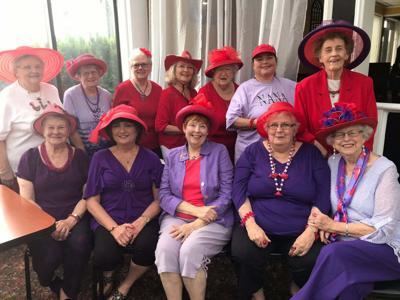 Sassy Ladies meet for birthdays, Memorial Day