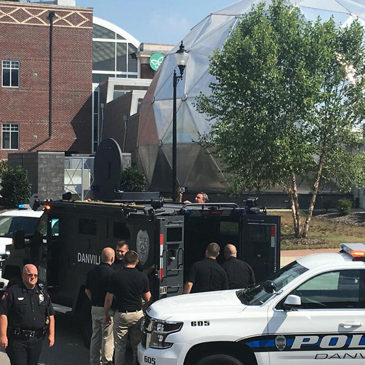 Rising to national challenge, Danville officers hit the