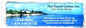 The Travel Center Header