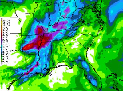 5-day rain map 071519